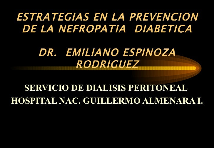 73. estrategia en la prevencion de la nefropatia diabetica 05 estrat.nefropatia diabetica