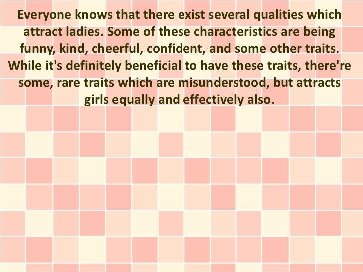 What Do Girls Find Attractive in Men