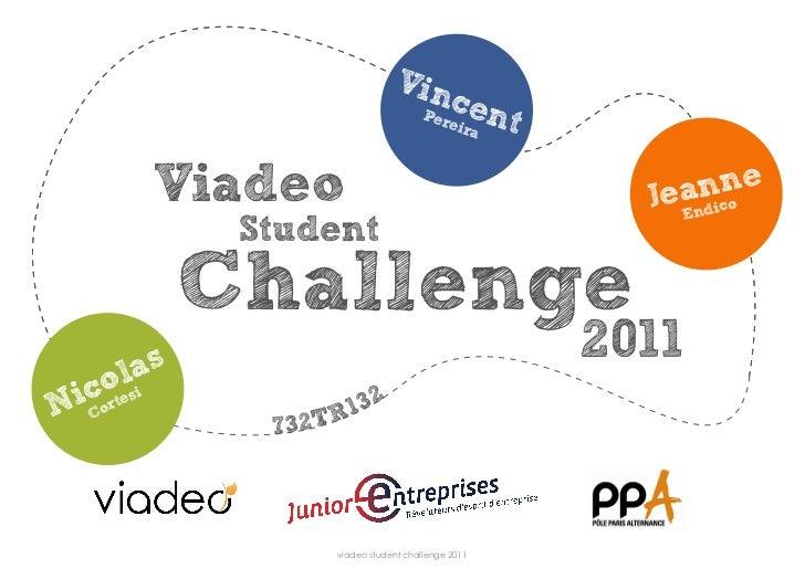 Viadeo Challenge 2012 - Dossier final.