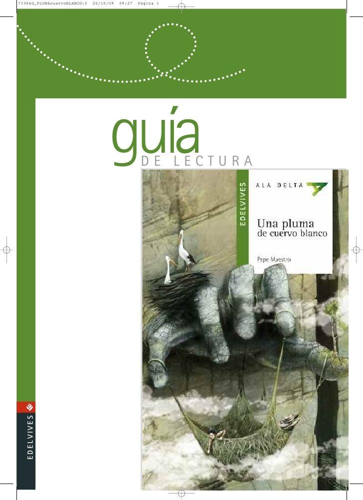 Guía lectura_Una Pluma De Cuervo Blanco
