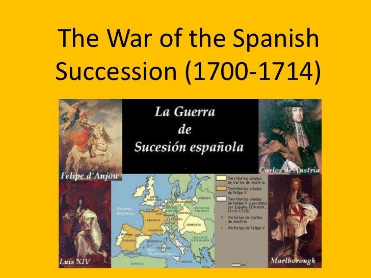 The Spanish Sucession War