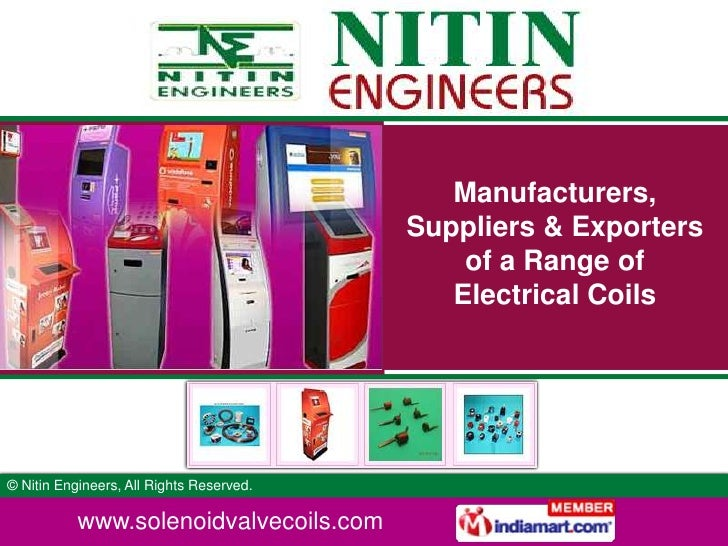 Manufacturers, Suppliers & Exporters of a Range of Electrical Coils<br />