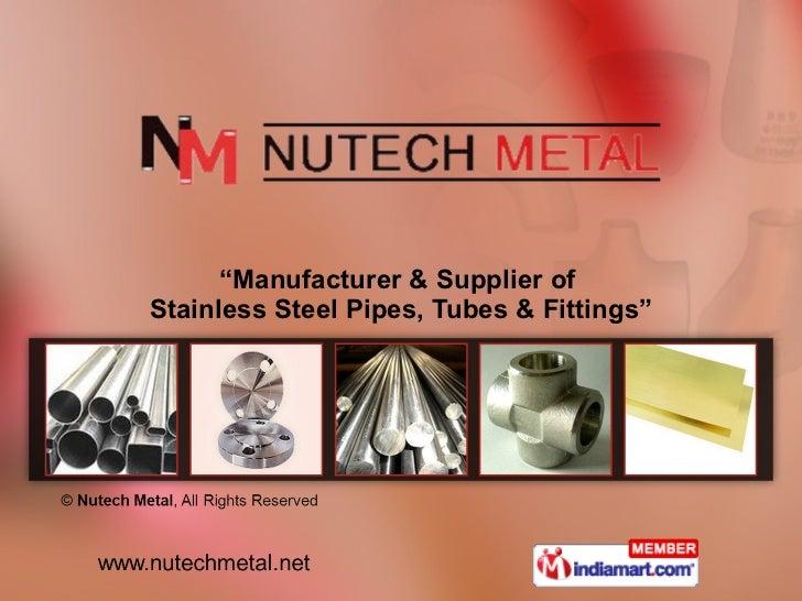 Nutech Metal Maharashtra India