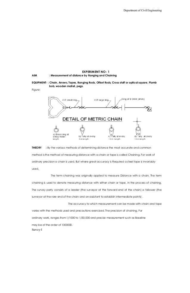 survey lab manual in civil engg