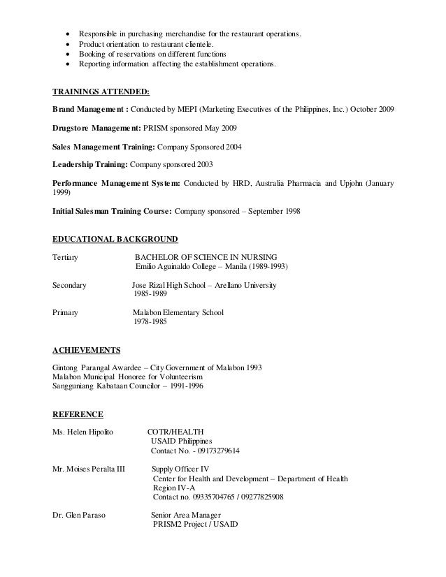 Erwin E Sison Resume Revised March 2015