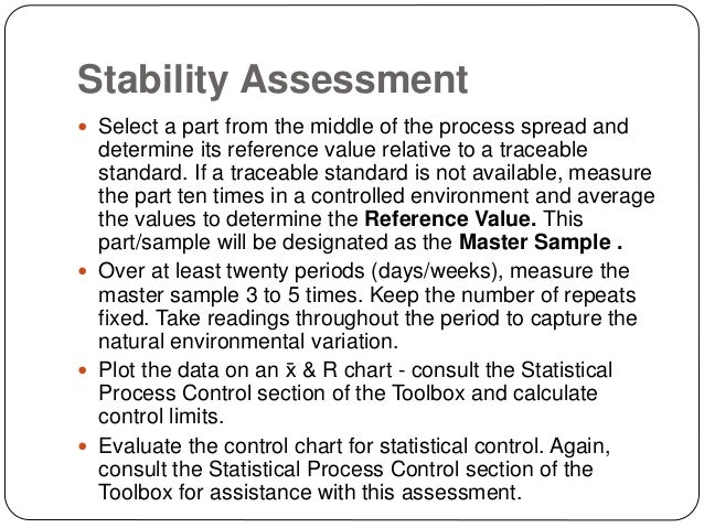 Measurement Systems Analysis - GHSP