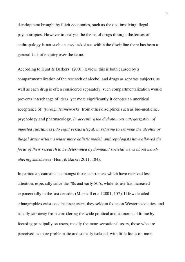 Dissertation anthropology