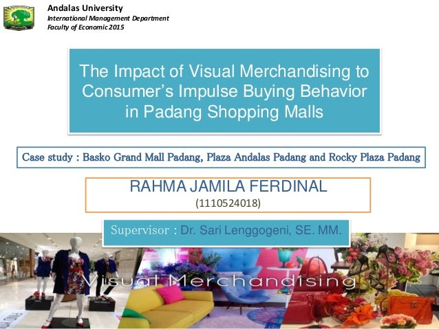 study the nature of impulse buying There are lots of factors that influence the rash decision of impulse buying of an individual such as- discount offers, behavior of the sales person, display of the product, nature of the.