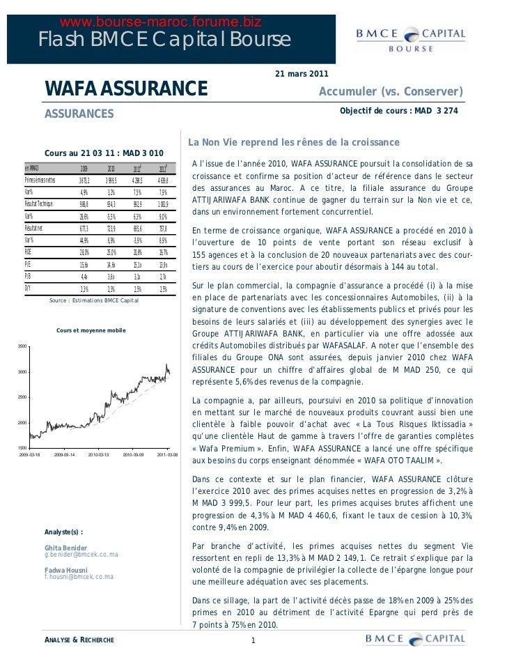 www.bourse-maroc.forume.biz           Flash BMCE Capital Bourse                                                           ...