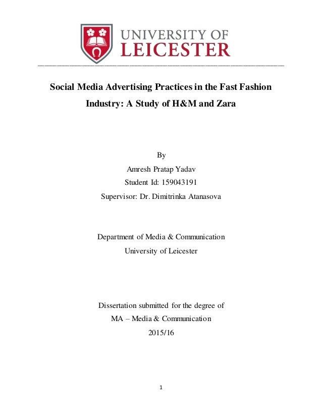 dissertation on media