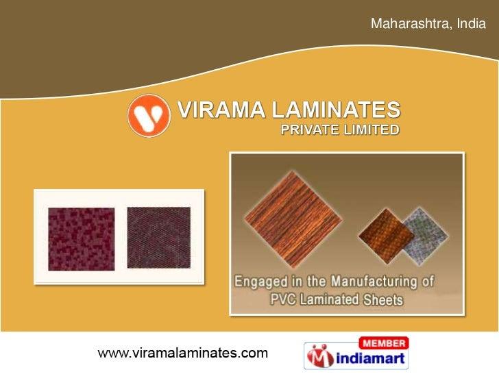 LAMINATED SHEETS by Virama Laminates Private Limited, Thane
