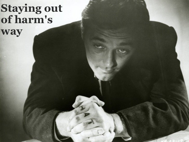 Stayingout of harm's way