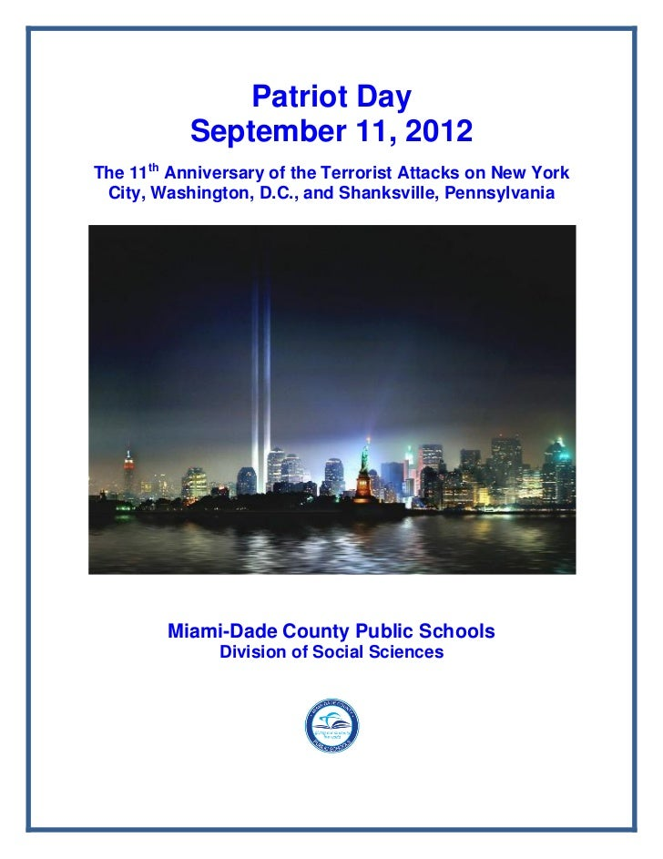 PATRIOT DAY PACKET 2012