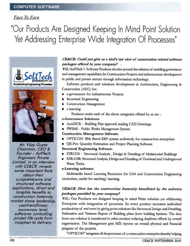 Softtech CEO Vijay Gupta in Conversation with CE & CR