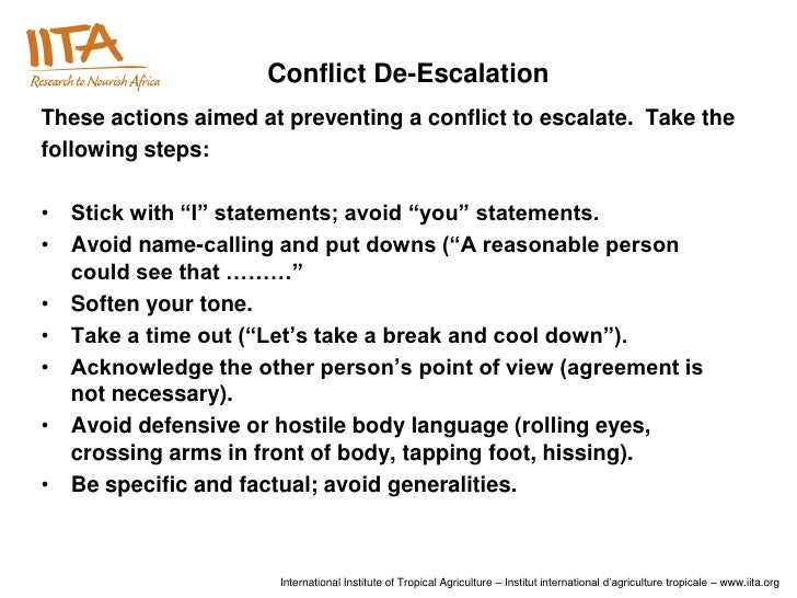 conflict and control in the workplace Is all workplace conflict the same no some is good, some bad, and some destructive learn the difference to resolve them read organizational conflict - the good.