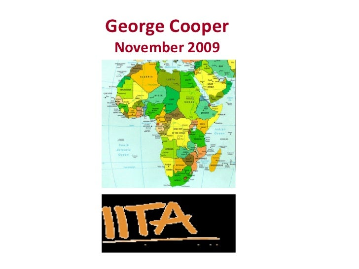 Developing a 5 year Supply Chain Strategy: IITA AS A CASE STUDY