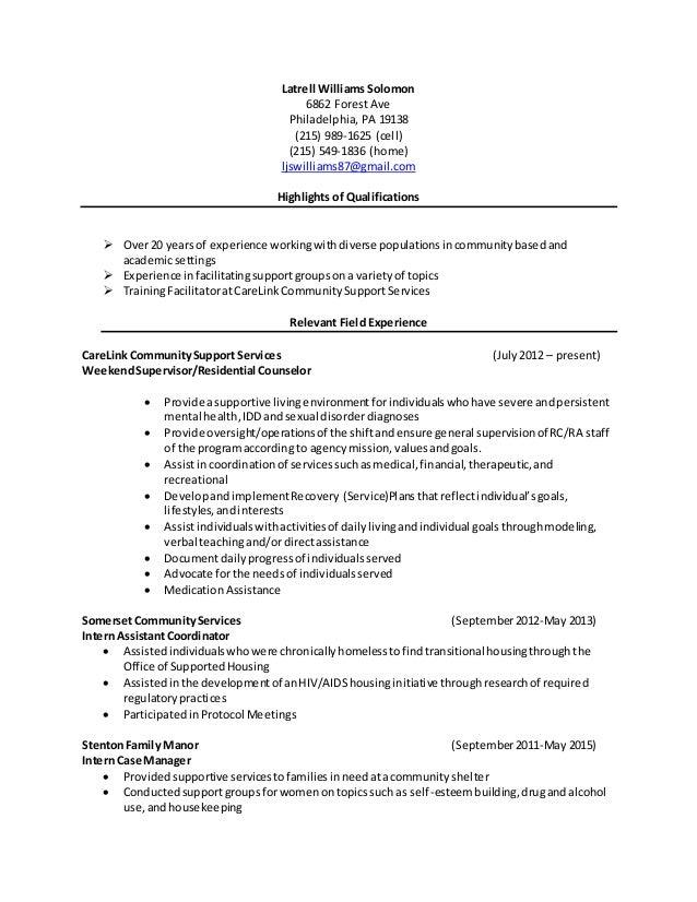 resume 2015 star