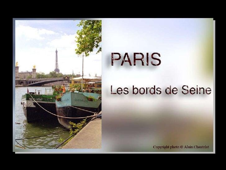 Paris et Seine
