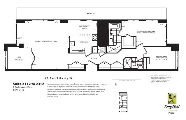 King west condominiums for 1 king west floor plans