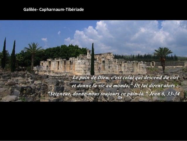 Galilée- Capharnaum-Tibériade