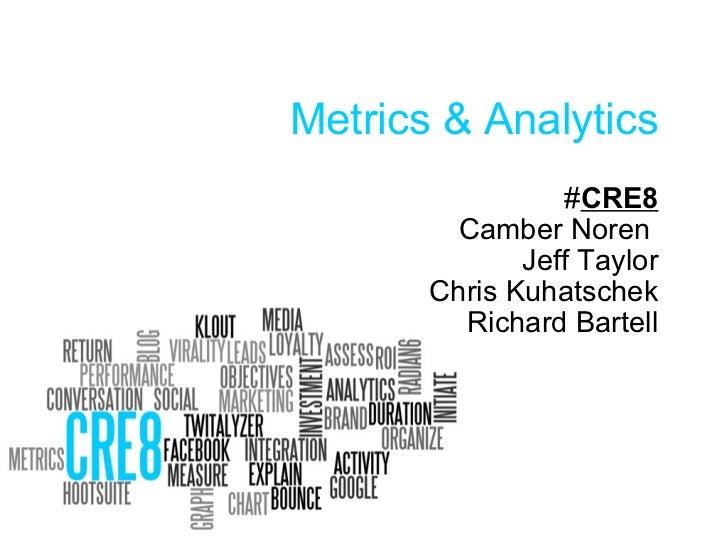Metrics & Analytics