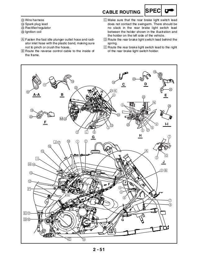 Yamaha Raptor 660 Wiring Diagram  Yamaha  Wiring Diagram Images