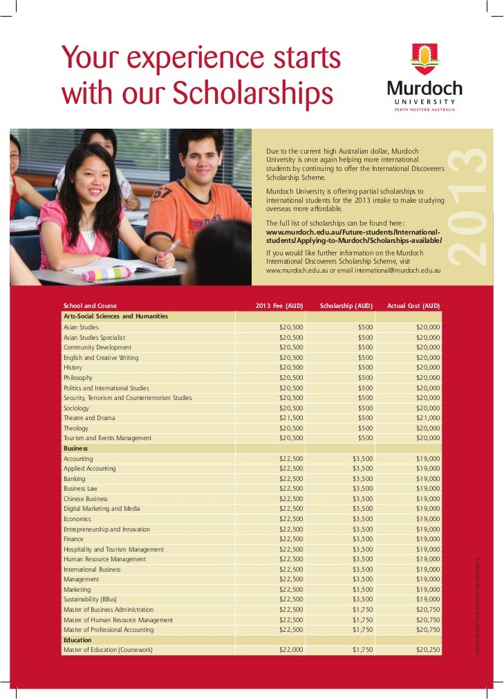 Your experience startswith our Scholarships                                                                               ...
