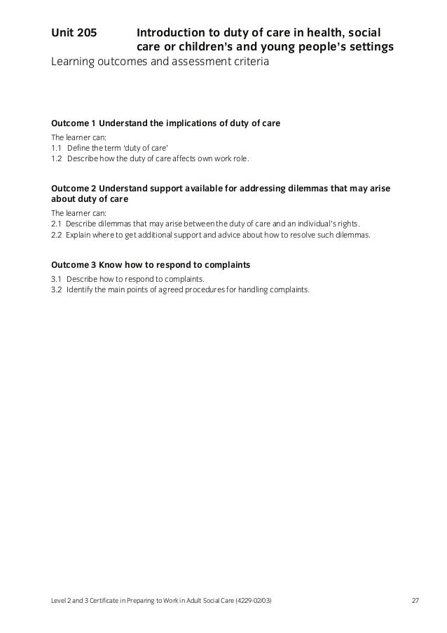 RIGHTS AND HEALTH AND SOCIAL CARE: EXAMPLES OF SITUATIONS THAT MIGHT OCCUR IN ...?