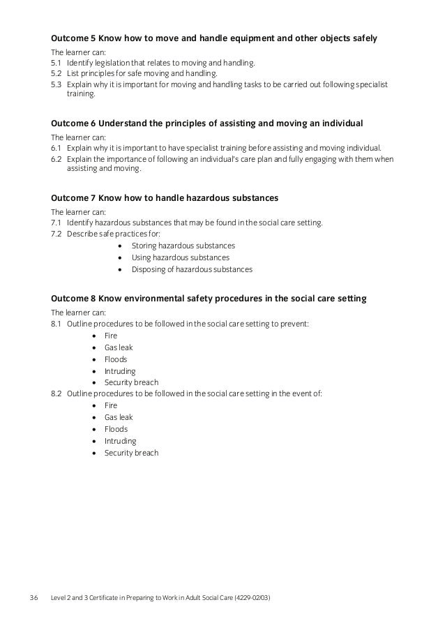 5 3 explain why it is important for moving and handling tasks to be carried out following specialist Instruction and training and the necessary supervision to perform manual handling tasks carried out by fit, well handling risk assessment the following notes.