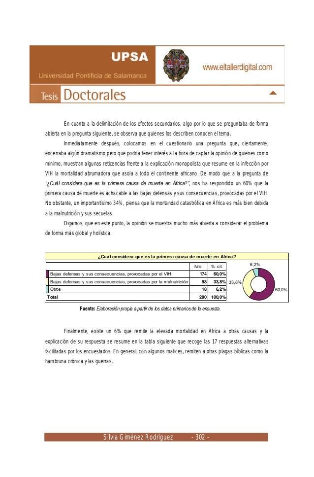 Silvia Giménez Rodríguez - 302 - En cuanto a la delimitación de los efectos secundarios, algo por lo que se preguntaba de ...