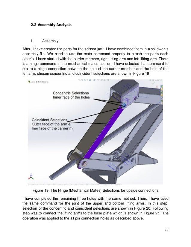Scissor jack design bing images for Fem analyse