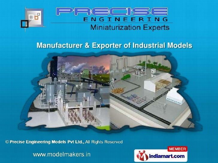 Manufacturer & Exporter of Industrial Models