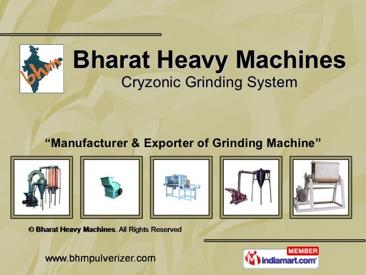Bharat Heavy Machines Uttar Pradesh India