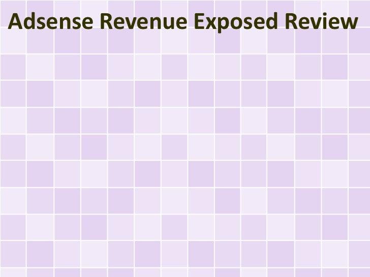 Adsense Revenue Exposed Review
