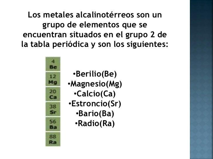 Los grupos de la tabla periodica alcalino terreos urtaz Gallery