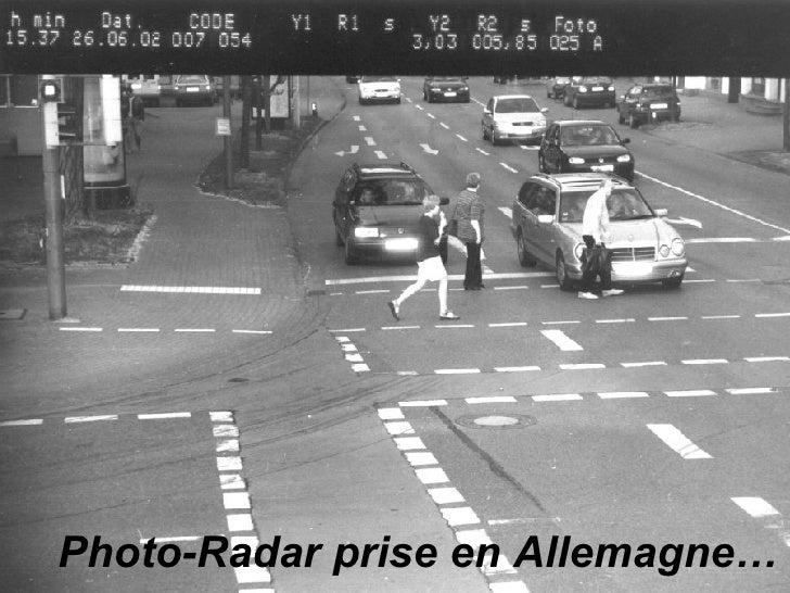 Photo-Radar prise en Allemagne…