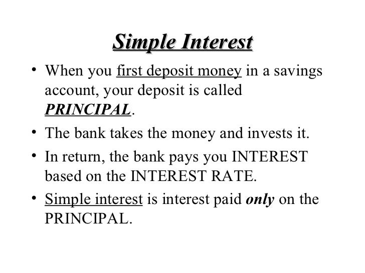 simple interest essay The initial point for understanding the time value of money is to develop an  appreciation for compound interest while it is not clear that albert einstein  actually.