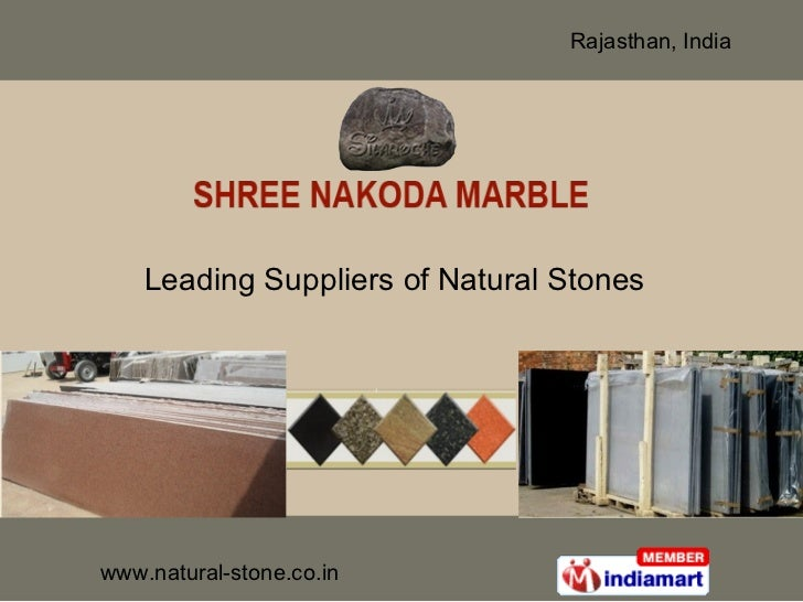 Leading Suppliers of Natural Stones
