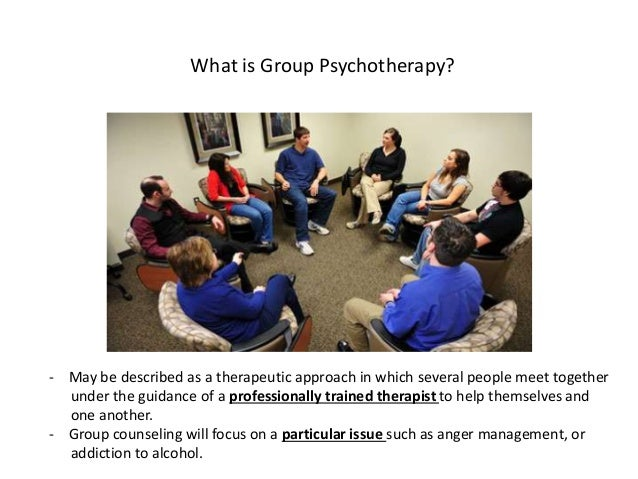 Group and family psychotherapy