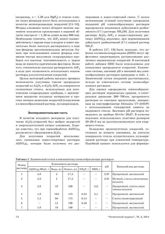 """72 """"Оптический журнал"""", 78, 2,"""