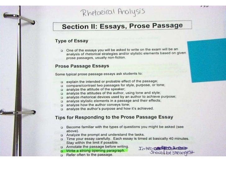 ap lang style analysis essay