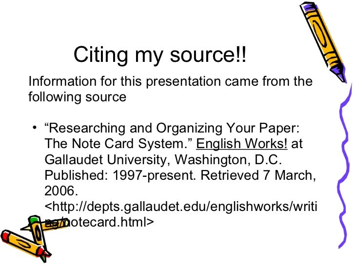 how to do notecards for a research paper mla C creating an outline outline for writing a research paper is a solid way to do it note how easily all the previous work you've done.