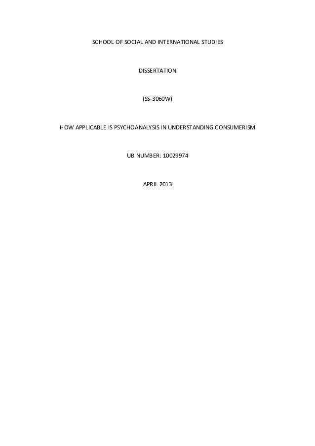 Dissertation final
