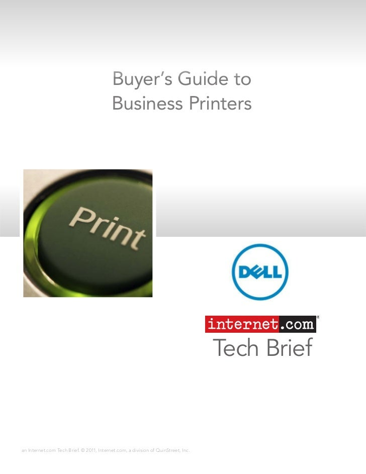 Buyer's Guide to                                          Business Printers                                               ...