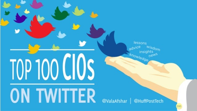 Top 100 CIOs to Follow on Twitter