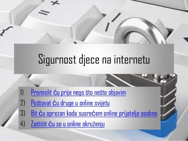 792 Sigurnost djece na internetu