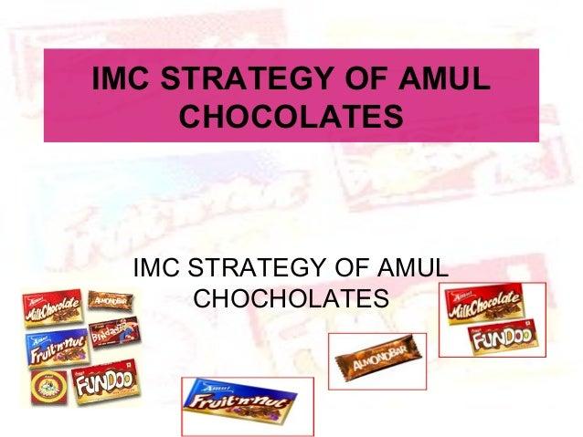 IMC strategy of amul