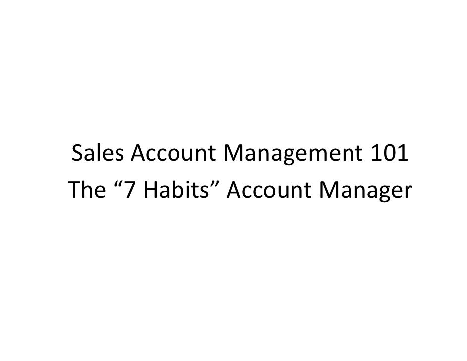 how to become an account manager