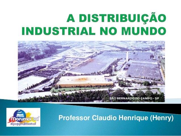 Professor Claudio Henrique (Henry)