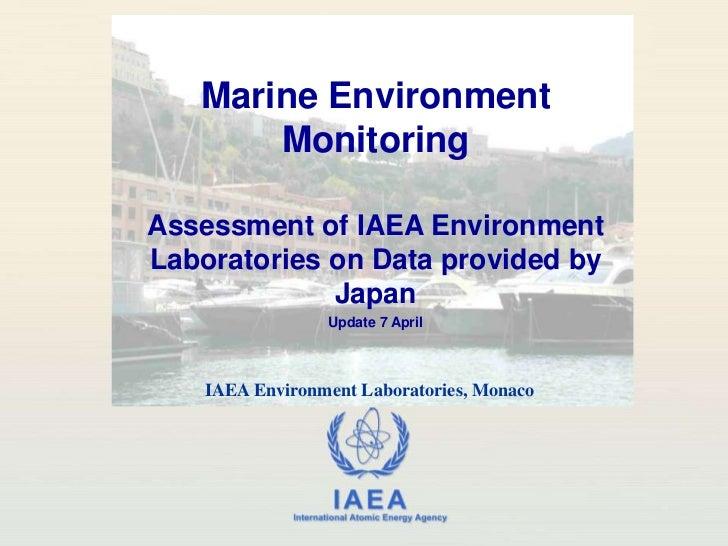 Marine Environment Monitoring